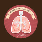 World Asthma Day Royalty Free Stock Photos