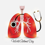 World Asthma Day Stock Photo