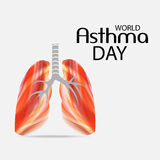 World Asthma Day Stock Photography