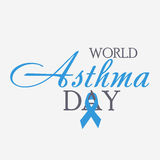 World Asthma Day Royalty Free Stock Photography