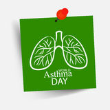 World Asthma Day Royalty Free Stock Photo