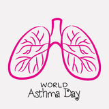 World Asthma Day Stock Image