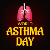 World Asthma Day Stock Images