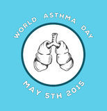 World asthma day vector Stock Photo