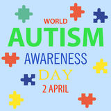 World autism awareness day 01 Stock Photography