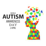 World autism awareness day 02 Royalty Free Stock Images