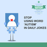 World autism awareness day 14 Stock Image
