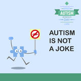 World autism awareness day 15 Stock Photography