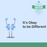 World autism awareness day 16 Stock Photography