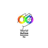 World Autism Awareness Day, April 2, 2017 Royalty Free Stock Images