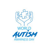 World autism awareness day Royalty Free Stock Photography