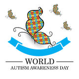 World Autism Awareness Day. Stock Images