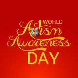 World Autism Awareness Day. Illustration of a Banner for World World Autism Awareness Day Royalty Free Stock Images
