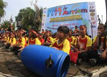World autism day in indonesia Stock Images