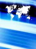 World background. Dynamic illustration of Worldmap stock illustration