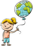 World Balloon Royalty Free Stock Images