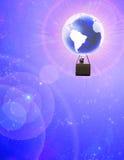 World balloon Stock Image