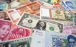 World banknotes Stock Photos