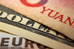 World banknotes Stock Images