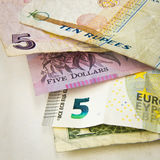 World banknotes Royalty Free Stock Photos