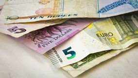 World banknotes Stock Photography