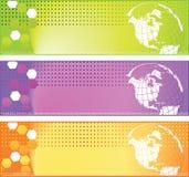 World banner Stock Photos