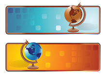 World banner Royalty Free Stock Photos