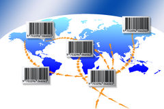 Free World Barcode Royalty Free Stock Photo - 18098635
