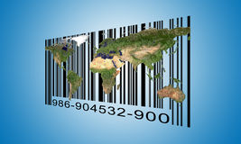 World  Barcode Stock Photos
