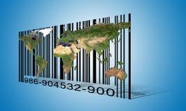World  Barcode Royalty Free Stock Photo