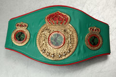 World Belt Boxing champion. UBO. Stock Image