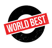 World Best rubber stamp Royalty Free Stock Images