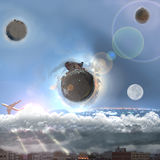 World from beyond imagination Royalty Free Stock Photography