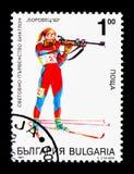 World Biathlon Championship, Bulgaria 1993, Sport serie, circa 1 Royalty Free Stock Image