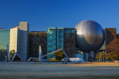 World biggest planetarium 2. World biggest planetarium (recognized by Guinness World Records, 2012). Located in Nagoya City Science Museum, Japan stock photos