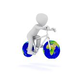 World bike Royalty Free Stock Photo