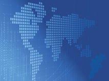 World Binary Stock Image