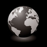 World black glow Royalty Free Stock Image