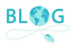 World Blogger Day banner Stock Photo