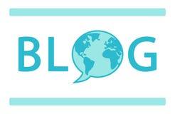 World Blogger Day banner Stock Images