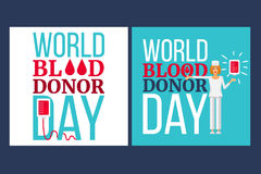 World Blood Donor Day Royalty Free Stock Photos