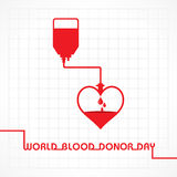 World Blood Donor Day Royalty Free Stock Photo