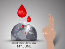 World blood donor day Stock Image