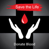 World blood donor day-June 14th.  Royalty Free Stock Images