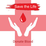 World blood donor day-June 14th. vector Stock Photography