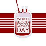 World blood donor day modern concept banner. Vector illustration. vector illustration
