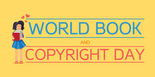 World Book and Copyright Day Royalty Free Stock Image