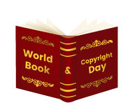 World Book and Copyright Day Royalty Free Stock Photo