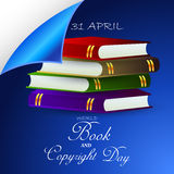 World Book and Copyright Day Stock Photo