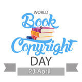 World Book and Copyright Day Stock Image